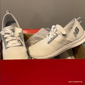 White New Balance Running shoes